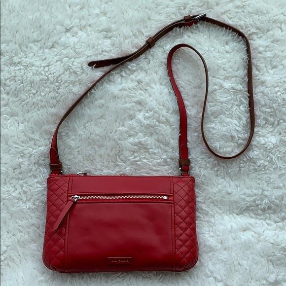 24c887c64 Vera Bradley Bags | Nwt Carryall Small Crossbody Red | Poshmark